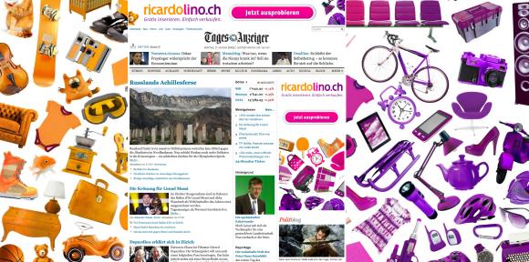Homepage von tagesanzeiger.ch