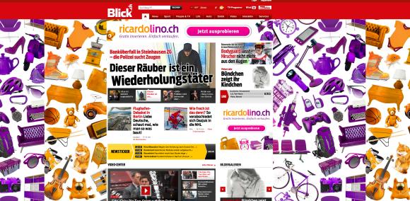 Homepage von blick.ch