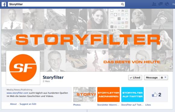 Storyfilter.com Facebook