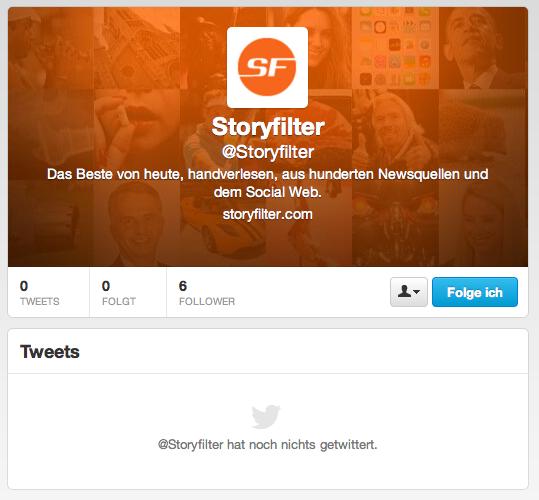 Storyfilter.com Twitter