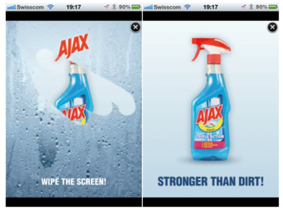Ayax Mobile Layer Ad