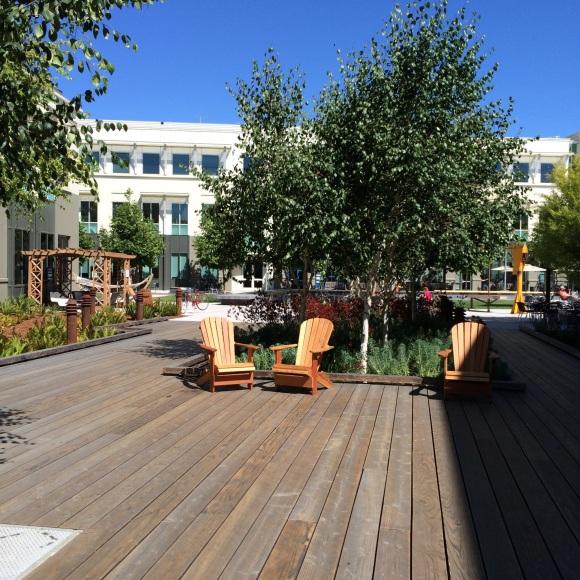 Lounge-Bereich bei Facebook