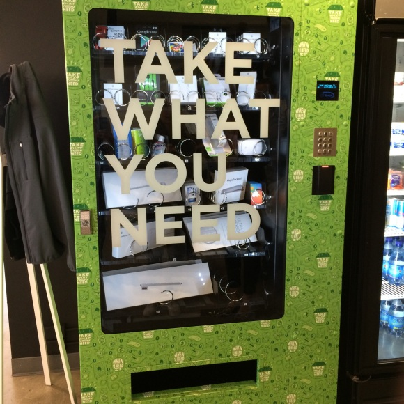 "Der ""Take-what-you-need""-Automat bei Evernote"