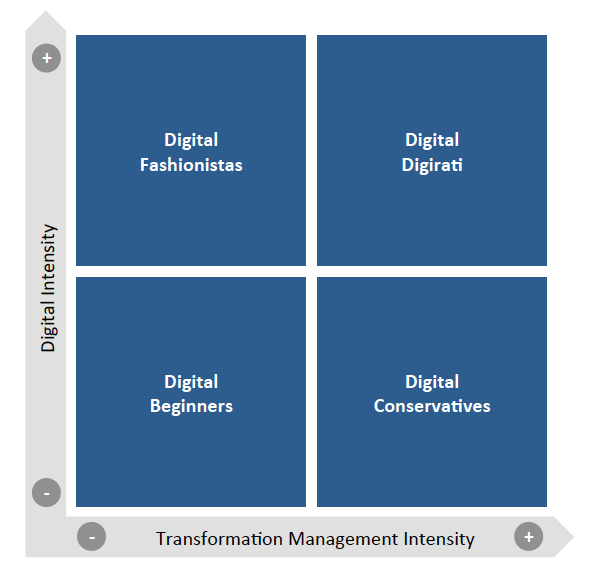 Four Types of Digital Maturity